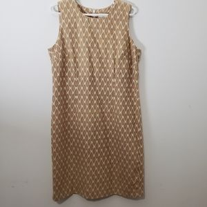 Vintage Liz CLAIBORNE  sleeveless dress size L P